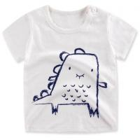Buy cheap Bulk wholesale 180gsm 100%cotton cheap kids white t shirt from china supplier from wholesalers