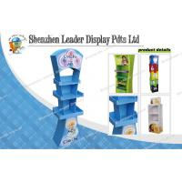 Buy cheap Oil Printing 3 Tier Cardboard Pop Displays For Promotion Product from wholesalers