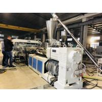 Buy cheap Big Thickness PVC Sheet Extruder Machine Extrusion Line Production Line from wholesalers