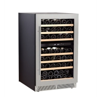Buy cheap Electric Refrigerator Dual Zone Free Standing Red Wine Cellar Compressor Wine Refrigerator Cooler from wholesalers