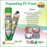 Buy cheap Expanding Tube Pu Foam Spray 750ml For Window And Door Wood Strength from wholesalers