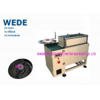 Buy cheap PLC Control Automatic Insertion Machine, Free Bur Electric Motor Coil Inserting Machine from wholesalers
