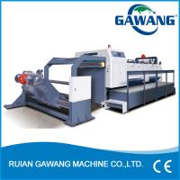 Buy cheap Auto Tension Wall Paper Roll Paper Sheeter And Cutter Machine from wholesalers