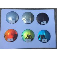 Buy cheap Mirror Coating Prescription Sunglass Lenses 70MM Diameter 1.499 Index from wholesalers