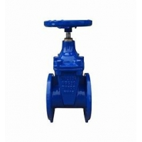 Buy cheap PN10 Double Disc Fire Protection Resilient Gate Valve from wholesalers