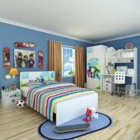 Buy cheap E0 Grade Children's Bedroom Furniture/Home Product/Boys Bedroom with Printing Customized Designs from wholesalers