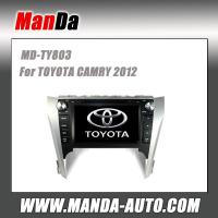 Buy cheap 8 inch 2 din hd touch screen car multimedia for TOYOTA CAMRY 2012 in-dash navigation from wholesalers