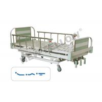 Buy cheap bariatric foldable single Medical Hospital Beds With Aluminum Alloy Guardrail from wholesalers