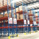 Buy cheap Heavy duty  Industrial selective warehouse steel shelf pallet rack from wholesalers