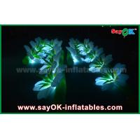 Buy cheap Promotional Led Inflatable Flower Decoration 190t Oxford Cloth from wholesalers