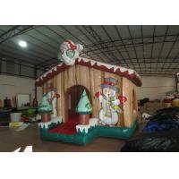 Buy cheap Children Air Blown Christmas Decorations , High Durability Funny Christmas Inflatables from wholesalers