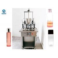 Buy cheap Four Nozzles Toner Filling Machine For Glass Bottles , Electric Driven Type from wholesalers