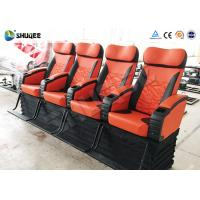 Buy cheap Electronic 4d Theater System Movie Theater Equipment 4 Seats With Vibration product