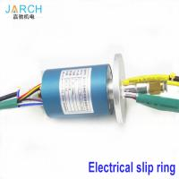 Buy cheap 2A / 5A Through Bore Homemade Hybrid Slip Ring Aluminium Alloy for air from wholesalers