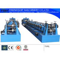 Buy cheap 10-25m/Min C Z Purlin Roll Forming Machine With 1.5 Chain Transmission from wholesalers