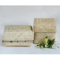 Buy cheap Bamboo Pouches, Bamboo Box for Gifts packing in natural and stained finish bamboo case from wholesalers