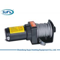 Buy cheap Wire Rope Electric Winch Hoist 12V 24V 2000lbs OEM / ODM Accepatble Fast Delivery from wholesalers