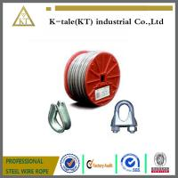 Buy cheap 6X7+FC, 6X7+IWS Elevator Steel Wire Rope supplier/steel wire rope for left/ wire rope with  metal products from wholesalers
