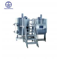Buy cheap Durable Craft Beer Brewing Equipment 0-80 KW Thickness 2.0-3.0 Mm Rockwool Insulation from wholesalers