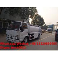 China Factory sale good price Japan ISUZU 4*2 LHD oil bowser truck, Wholesale price Isuzu fuel dispensing truck for sale on sale