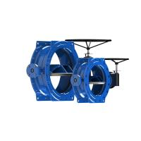 Buy cheap DI Disc Stainless Steel Butterfly Valve , Epoxy Coated High Pressure Butterfly Valve from wholesalers