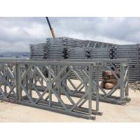 Buy cheap Prefabricated Q345B Single Lane Bridge , Hot Dip Galvanized Steel Bridge product