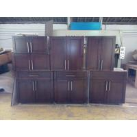 Buy cheap Stock cherry solid wood kitchen cabinet from wholesalers