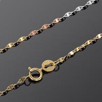 Buy cheap 18K Yellow Gold Rose Gold White Gold Chain Necklace for Women Gift (NG015) from wholesalers