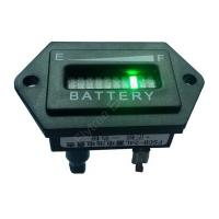 Buy cheap Hexagon battery gauge 10 Bar LED Digital Battery Discharge Indicator meter for electric fork lift LSV 12V up to 100V from wholesalers