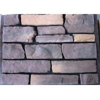 Buy cheap Artificial Cement Faux Stacked Stone Veneer For Wall Building Construction from wholesalers