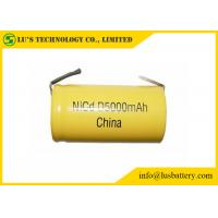 Buy cheap High Capacity Nickel Cadmium Battery Size D 5000mah Rechargeable Battery from wholesalers