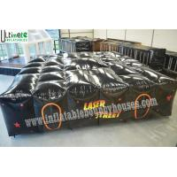 Buy cheap Tactical Inflatable Games Big Inflatable Laser Tag Equipment  Lead Free Material from wholesalers