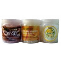 Buy cheap OEM Natural Moistening And Relexing SPA Bath Salts / Shower Salt for Women from wholesalers