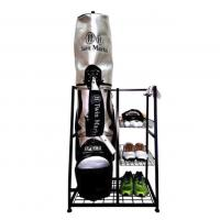 Buy cheap Functional Storage Single Golf Bag Organizer Rack Indoor Use Non Folding Stand Type from wholesalers