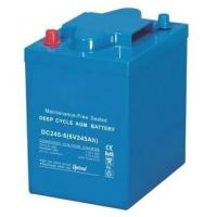 Buy cheap 245Ah VRLA AGM Battery , 6 Volt Deep Cycle Battery For EV Golf / Utility Vehicle from wholesalers