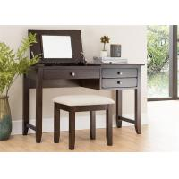 Buy cheap Family Bedroom Black Dressing Table , Modern Rosewood Brown Dressing Table from wholesalers