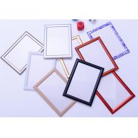 Buy cheap Round Corner A1 Snap Frame Poster Display , Wall Mounted Aluminum Picture Frames from wholesalers