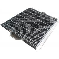 Buy cheap Anti Slip Galvanised Drainage Grates With Exterior Large Long Square Channel from wholesalers