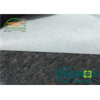Buy cheap Enzyme Wash 80°C Non Woven Interlining Coat Interlining For Garment from wholesalers
