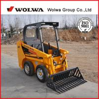 Buy cheap Strong energy 1.5ton mini wheel skid steer loader from wholesalers