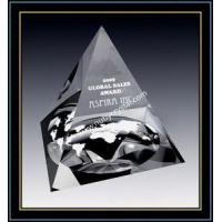 Buy cheap Crystal Pyramid Paperweights for Corporate Promotion Gift from wholesalers