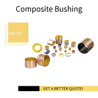 Buy cheap Sleeve Acetal Plastic POM Plain Bearings Grease - Lubricated Composite Bushings from wholesalers