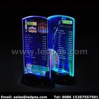 Buy cheap Battery Powered LED Menu Card Sign Holder from wholesalers