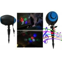 Buy cheap Outdoor Christmas Laser Lights by ABS Material made black house for Holiday decoration from wholesalers