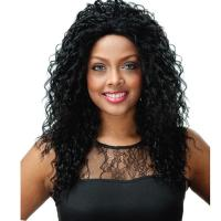 Buy cheap artificial hair #1/#350 synthetic lace wig from wholesalers