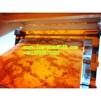 Buy cheap Cheap good quality multi pattern pvc marble sheet extrusion machinery product