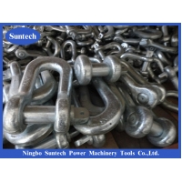 Buy cheap Steel Pilot Wire High Strength Galvanized Shackle For Construction Works In Transmission Line from wholesalers