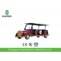 Buy cheap 8 Seater 7.5KW Electric Vintage Cars Classic Retro Golf Cart CE Certificated from wholesalers