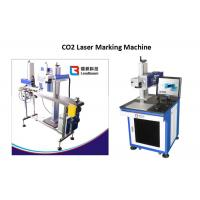 Buy cheap Food Package CO2 Laser Marking Machine Plastic Paper Sticker Box Cardboard Print from wholesalers