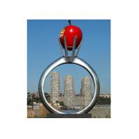 Park garden decoration stainless steel modern monumental for A t design decoration co ltd
